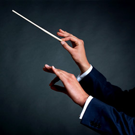 A facilitator's role is similar to that of an orchestra conductor: gently guiding a group of talented individuals so that the best in the group can rise up.